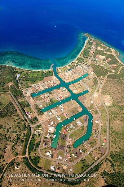 Lotissement de Naïa, région de Païta, Nouvelle-Calédonie