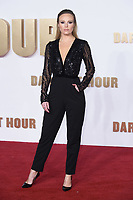 "Michelle Dewberry<br /> arriving for the ""Darkest Hour"" premiere at the Odeon Leicester Square, London<br /> <br /> <br /> ©Ash Knotek  D3361  11/12/2017"
