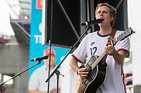 NASHVILLE, TN - SEPTEMBER 5: Ben Rector performs at US Soccer FanHQ at Nissan Stadium on September 5, 2021 in Nashville, Tennessee.