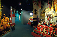 Displays in the Japanese Cultural Center, which showcases Japanese influence in Hawaii, near downtown Honolulu