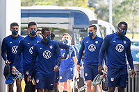 BRADENTON, FL - JANUARY 22: The USMNT trains at IMG Academy during the 2021 January Camp during a training session at IMG Academy on January 22, 2021 in Bradenton, Florida.