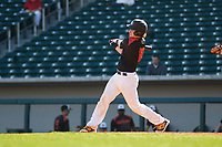 Joe Setting (10) of SALESIANUM High School in Wilmington, Delaware during the Under Armour All-American Pre-Season Tournament presented by Baseball Factory on January 14, 2017 at Sloan Park in Mesa, Arizona.  (Freek Bouw/MJP/Four Seam Images)