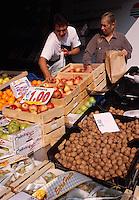 Italien, Lombardei, Markt in Brescia