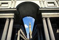 Italy,Florence. The Uffizi