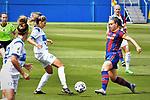 Liga IBERDROLA. Game 16.<br /> FC Barcelona vs UDG Tenerife Egatesa: 6-1.<br /> Natalia Ramos vs Alexia Putellas.