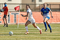SAN ANTONIO, TX - FEBRUARY 7, 2021: The University of Texas at San Antonio Roadrunners defeat the Texas A&M University Corpus Christi Islanders 2-0 at the Park West Athletics Complex (Photo by Jeff Huehn).