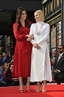 LOS ANGELES, CA. November 19, 2019: Idina Menzel & Kristen Bell at the Hollywood Walk of Fame Star Ceremony honoring Kristen Bell & Idina Menzel.<br /> Pictures: Paul Smith/Featureflash