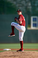 Altoona Curve starting pitcher Mitch Keller (35) delivers a pitch during a game against the Richmond Flying Squirrels on May 15, 2018 at Peoples Natural Gas Field in Altoona, Pennsylvania.  Altoona defeated Richmond 5-1.  (Mike Janes/Four Seam Images)
