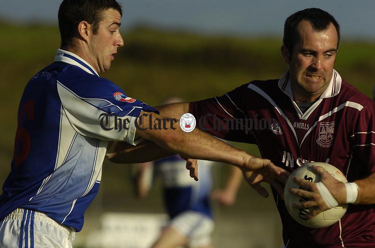 Football St Breckans v Kilkee at Quilty
