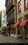 Lingerie Sonia and 17th c. House, Muntplein, Bruges, Brugge, Belgium