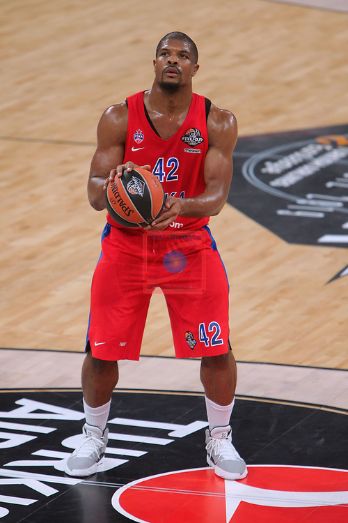 Turkish Airlines Euroleague.<br /> Final Four - Vitoria-Gasteiz 2019.<br /> Semifinals.<br /> CSKA Moscow vs Real Madrid: 95-90.<br /> Kyle Hines.