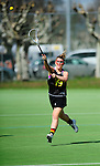 FRANKFURT AM MAIN, GERMANY - April 14: Emily Patterson #19 of Germany during the Deutschland Lacrosse International Tournament match between Germany vs Austria on April 14, 2013 in Frankfurt am Main, Germany. Germany won, 10-4. (Photo by Dirk Markgraf)