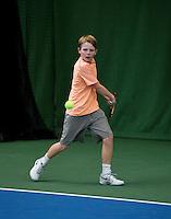 20131201,Netherlands, Almere,  National Tennis Center, Tennis, Winter Youth Circuit, Jesper de Jong   <br /> Photo: Henk Koster