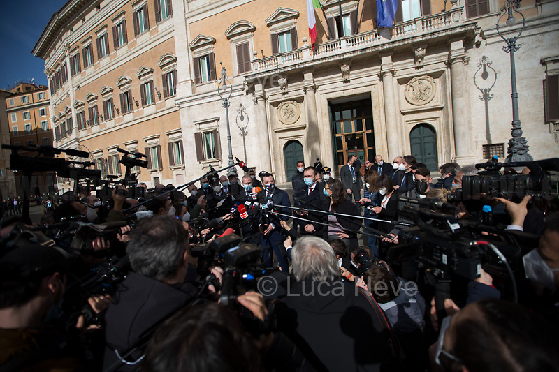 Matteo Salvini MP (Delegation of Lega / League Party). <br />