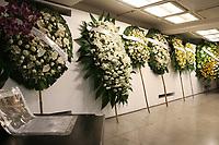 São Paulo (SP) 12/02/2019 - Morte / Ricardo Boechat - Últimas homenagens, durante velório do jornalista Ricardo Boechat no Museu da Imagem e do Som (MIS), na zona sul de São Paulo na madrugada desta terça-feira, 12. (Foto: Charles Sholl/Brazil Photo Press)