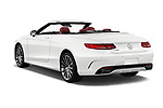 Car pictures of rear three quarter view of 2017 Mercedes Benz S-Class S550 2 Door Convertible Angular Rear