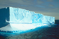 Large icebergs floating in Antarctic Sound, Antarctic Peninsula.