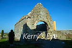 The 12th century church on the grounds of Ardfert cathedral on Saturday.