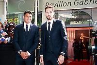 THIAGO SILVA & KEVIN TRAPP- 25eme Ceremonie des Trophees UNFP au Pavillon Gabriel