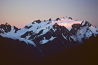 Mount Olympus from High Divide area, Olympic National Park, Washington.  (Lowest glaciers in the lower 48 states).