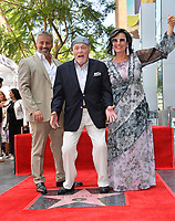 LOS ANGELES, CA. July 31, 2019: Matt LeBlanc, Stacy Keach & Malgosia Tomassi Keach at the Hollywood Walk of Fame Star Ceremony honoring Stacy Keach.<br /> Pictures: Paul Smith/Featureflash