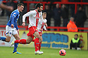 Michael Doughty of Stevenage (on loan from QPR) attacks<br />  - Stevenage v Portsmouth - FA Cup 1st Round  - Lamex Stadium, Stevenage - 9th November, 2013<br />  © Kevin Coleman 2013
