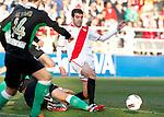 Madrid (03/03/2012).-Campo de Futbol de Vallecas..Liga BBVA..Rayo Vallecano-Real Racing Club..Trashorras...©Alex Cid-Fuentes.......