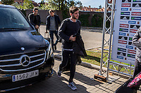 Spainsh Sergi Roberto arriving at the concentration of the spanish national football team in the city of football of Las Rozas in Madrid, Spain. November 08, 2016. (ALTERPHOTOS/Rodrigo Jimenez) ///NORTEPHOTO.COM