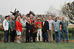 Winners circle after the running of the 54th Rebel Stakes (Grade II) at Oaklawn Park in Hot Springs, Arkansas-USA on March 15, 2014. (Credit Image: © Justin Manning/Eclipse/ZUMAPRESS.com)