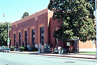 "Visalia CA: U.S. Post Office, 1932. James Wetmore and W.D. Coates. ""Most handsome monumental Moderne in California."""