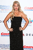 LOS ANGELES, CA, USA - OCTOBER 11: Angeline Rose Troy arrives at the Children's Hospital Los Angeles' Gala Noche De Ninos 2014 held at the L.A. Live Event Deck on October 11, 2014 in Los Angeles, California, United States. (Photo by Xavier Collin/Celebrity Monitor)