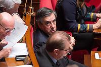 FRANCOIS FILLON - ASSEMBLEE NATIONALE - SEANCE DE QUESTIONS AU GOUVERNEMENT