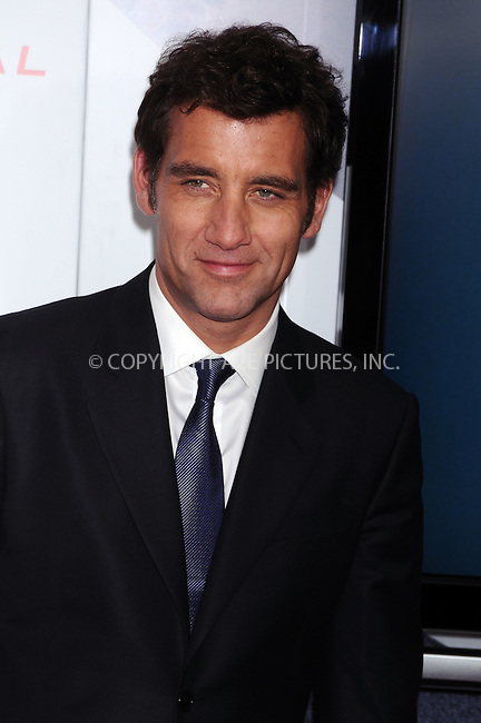 WWW.ACEPIXS.COM . . . . .  ....February 9 2009, New York City....Actor Clive Owen at a screening of 'The International' hosted by  the The Cinema Society and Angel by Thierry Mugler at AMC Lincoln Square on February 9 2009 in New York City....Please byline: AJ Sokalner - ACEPIXS.COM..... *** ***..Ace Pictures, Inc:  ..tel: (212) 243 8787..e-mail: info@acepixs.com..web: http://www.acepixs.com
