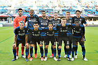 San Jose, CA - Wednesday June 28, 2017: San Jose Earthquakes Starting Eleven prior to a U.S. Open Cup Round of 16 match between the San Jose Earthquakes and the Seattle Sounders FC at Avaya Stadium.