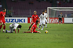 Singapore vs Myanmar during their AFF Suzuki Cup 2008 Group A match at Gelora Bung Karno Stadium on 07 December 2008, in Jakarta, Indonesia. Photo by Stringer / Lagardere Sports