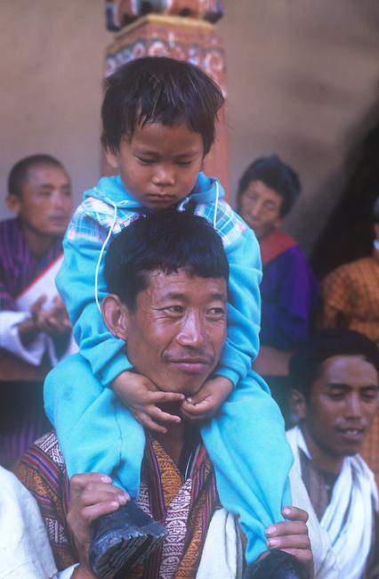 Father & Son, Bhutan