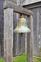 Chapel bell at Fort Ross State historic Park. California
