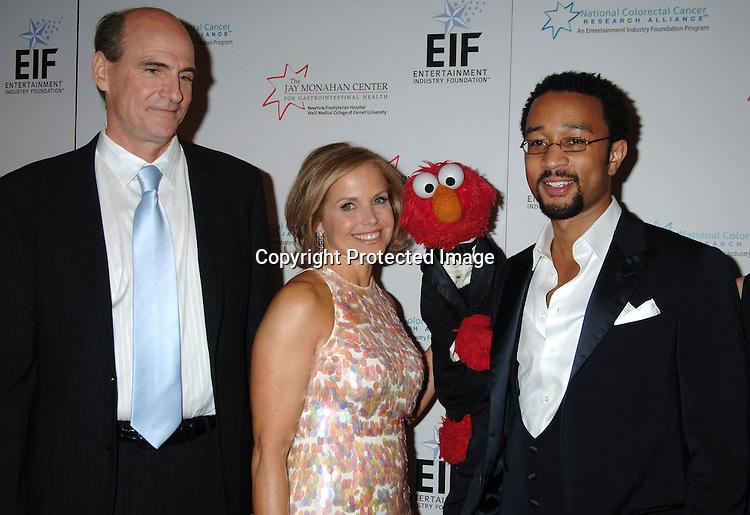 James Taylor, Katie Couric, Elmo and John Legend