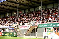EMMEN - Voetbal, FC Emmen - Heracles Almelo , voorbereiding seizoen 2021-2022, 25-07-2021,  weer publiek op de tribune