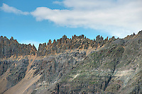 Peaks north of Telluride, Colorado.  July 2013. 80475