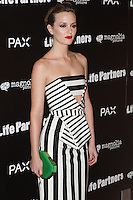 HOLLYWOOD, LOS ANGELES, CA, USA - NOVEMBER 18: Leighton Meester arrives at the Los Angeles Special Screening Of Magnolia Pictures' 'Life Partners' held at Arclight Hollywood on November 18, 2014 in Hollywood, Los Angeles, California, United States. (Photo by Rudy Torres/Celebrity Monitor)