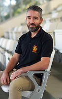 Competitions manager Paul Young. 2021 Cricket Wellington staff headshots at NZ Cricket Museum in Wellington, New Zealand on Monday, 2 August 2021. Photo: Dave Lintott / lintottphoto.co.nz