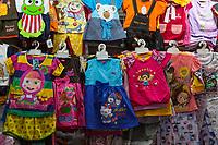 Yogyakarta, Java, Indonesia.  Children's Clothing,  Beringharjo Market.