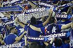 Montakit Fuenlabrada's supporters during Eurocup, Regular Season, Round 6 match. November 16, 2016. (ALTERPHOTOS/Acero)
