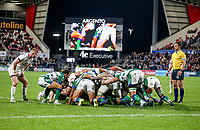 Friday 8th October 2021<br /> <br /> Nathan Doak during the URC Round 3 clash between Ulster Rugby and Benetton Rugby at Kingspan Stadium, Ravenhill Park, Belfast, Northern Ireland. Photo by John Dickson/Dicksondigital