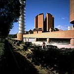 La parrocchia del Santo Volto progettata da Mario Botta. The Santo Volto Church. May 2007.