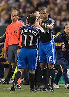 Ryan Johnson,.San Jose Earthquakes vs Los Angeles Galaxy, April 4, 2008, in Carson California. The Galaxy won 2-0.