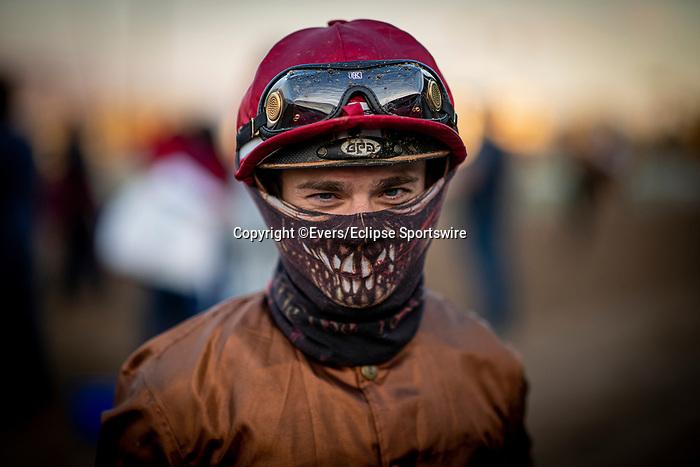 December 26, 2020: Umberto Rispoli at Santa Anita Park in Arcadia, California on December 26, 2020. Evers/Eclipse Sportswire/CSM