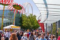 Northwest Folklife Festival 2016, Seattle Center, Washington, USA.