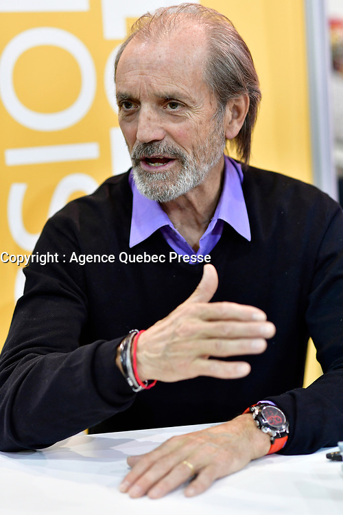 le commandant piche, mars 2018<br /> <br /> <br /> PHOTO : Agence Quebec Presse